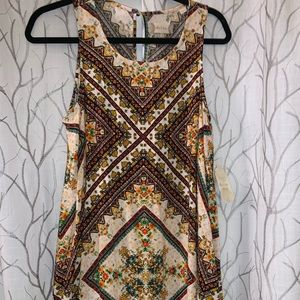 Altar'd state above the knee length dress